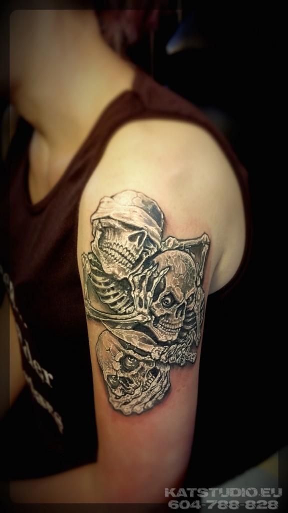tatuaz czaszki