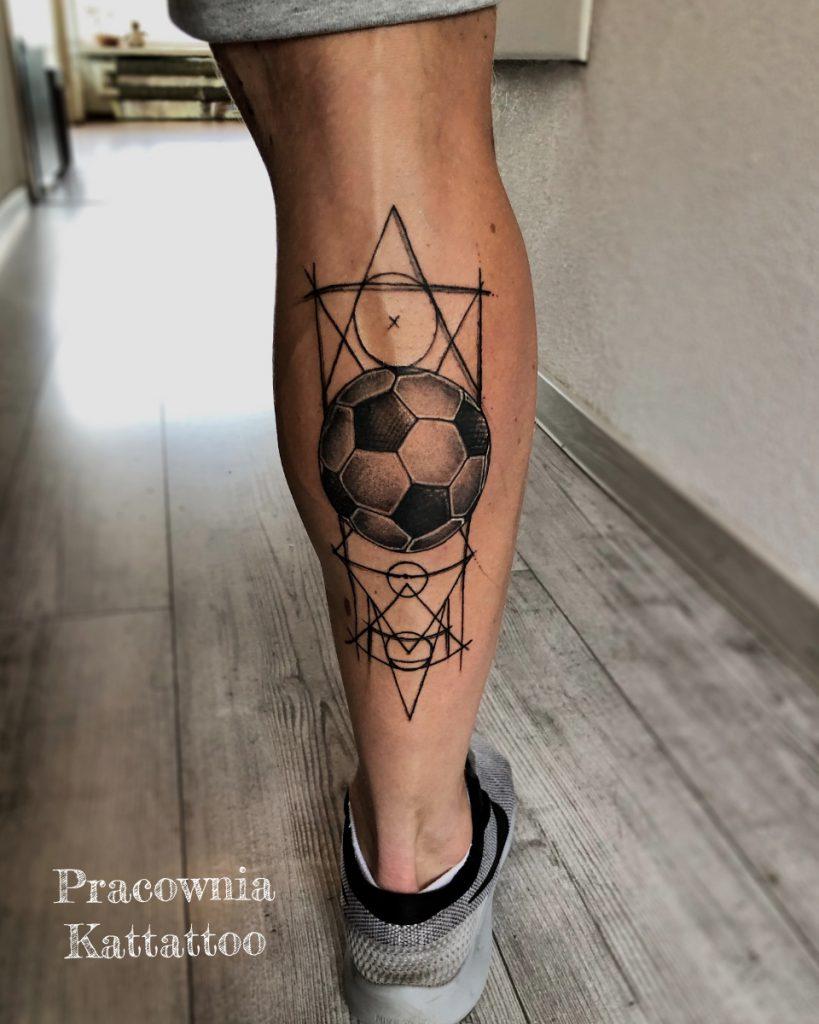Tatuaż piłkarza
