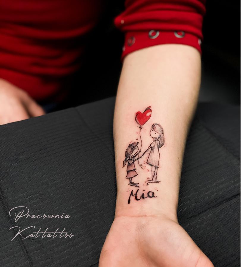Tatuaż dla mamy