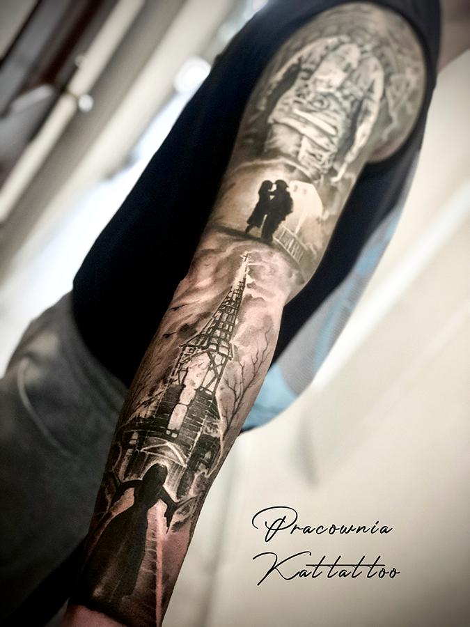 Tatuaż dla strażaka